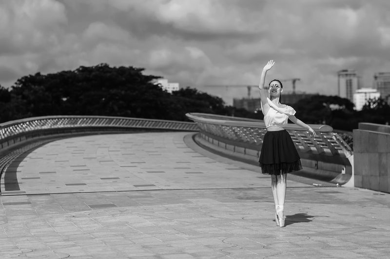 #ballet, #girl, #vietnam Graceful Ballerina.photo preview