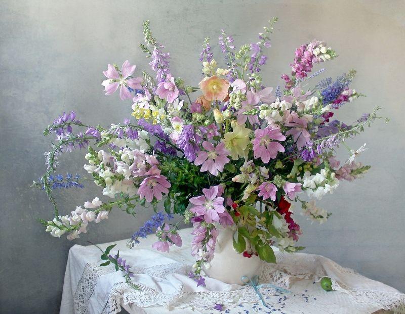 натюрморт, цветы, марина филатова Нежное летоphoto preview