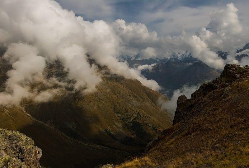 горы, облака невесомость....photo preview
