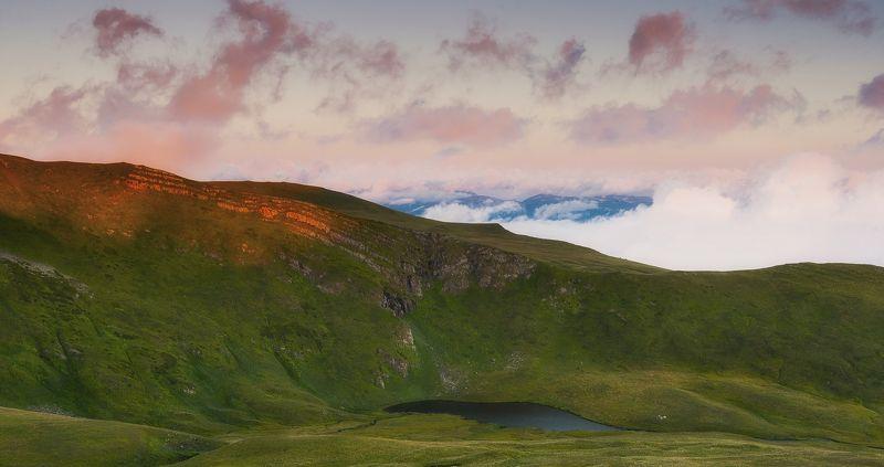 утро, рассвет, озеро, нижние, бамбакское, осень, сентябрь УТРО НОВОГО ДНЯ .photo preview