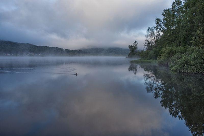 горный_алтай, алтай, озеро, манжерокское озеро, рассвет, утро Утроphoto preview