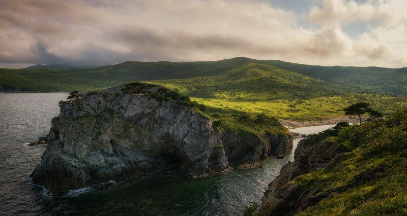 приморский край, заповедник, рассвет, море, солнце Заповедные мотивыphoto preview