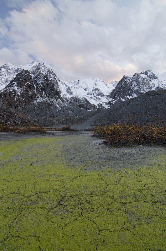Алтай, ледник Зелинского ледниковый периодphoto preview