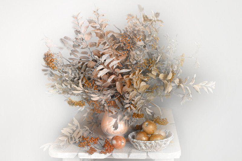 осень,листва,яблоки,вера павлухина, Золотая осеньphoto preview