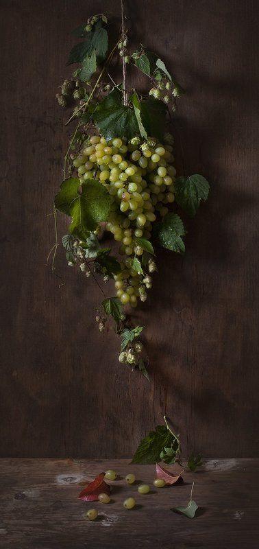 натюрморт,still life, виноград Натюрморт с виноградомphoto preview