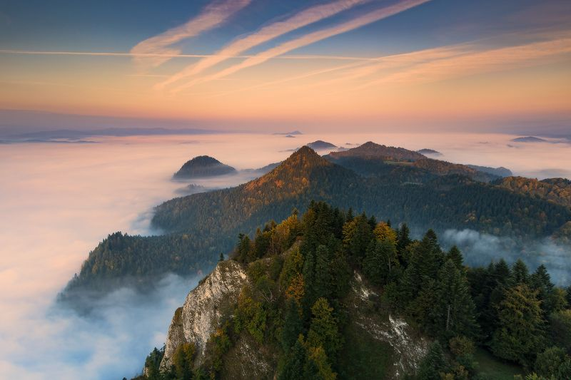 Autumn in Pieniny Mountainsphoto preview