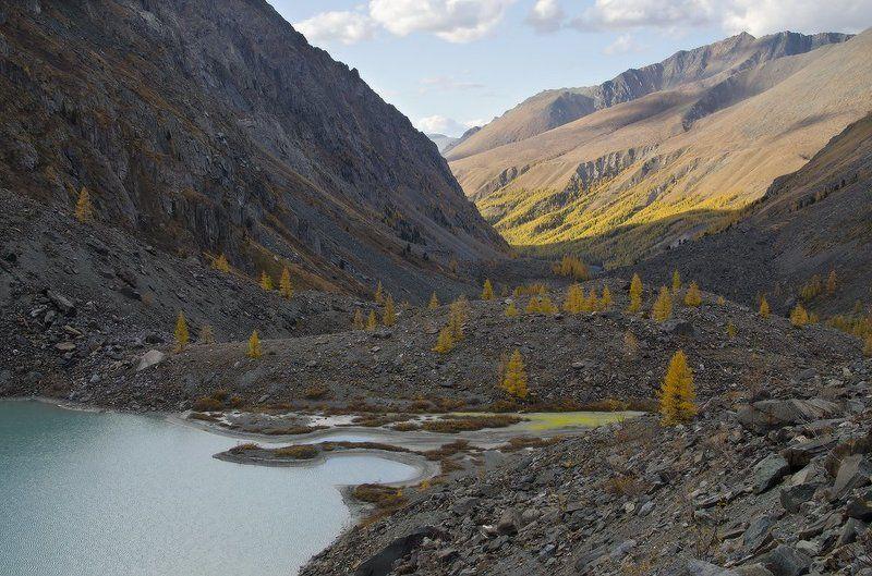 р. Шавла, ледник Зелинского в объятиях горphoto preview