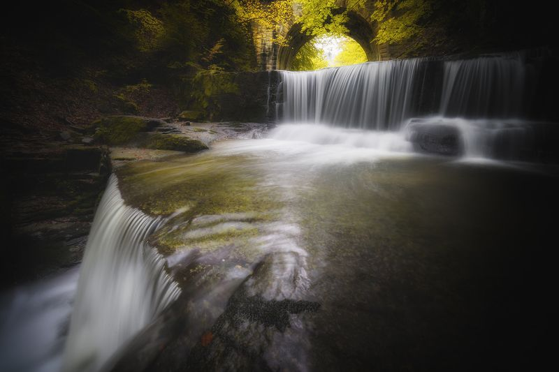 Ситово, водопад, вода, река, есен Водопад край Ситовоphoto preview