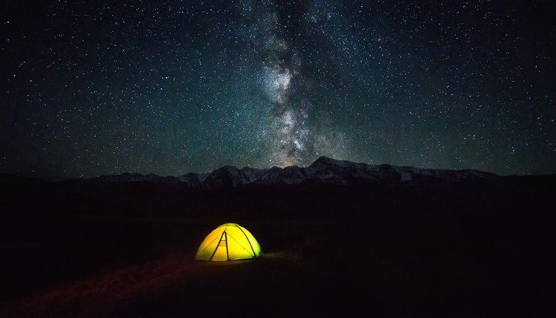 алтай, куркурек, джангысколь, горы, звезды, млечныйпуть Ночь на Джангыскольphoto preview