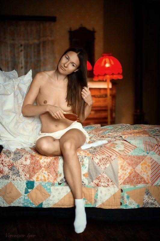 ню, девушки, грудь, обнажённая Утроphoto preview