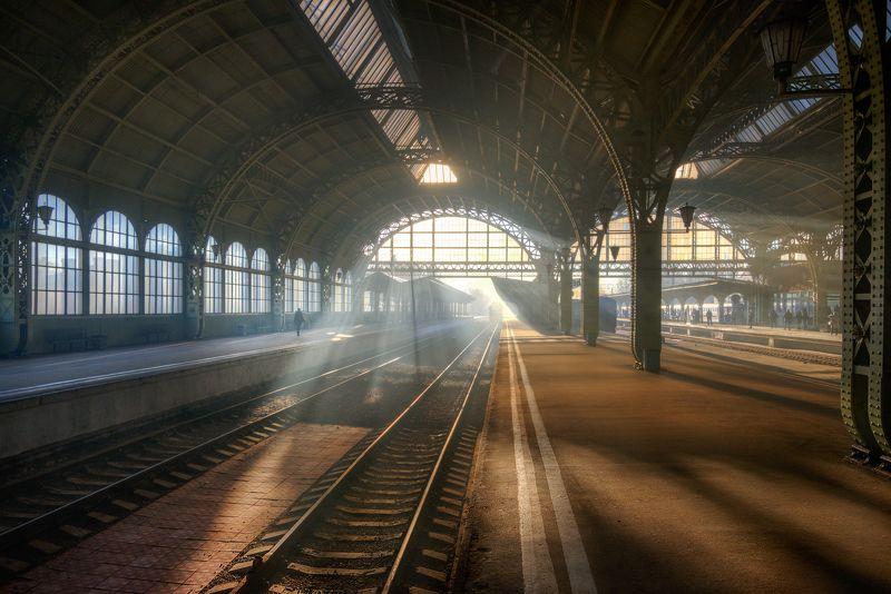 санкт-петербург Санкт-Петербург. Витебский вокзал. Октябрь....photo preview