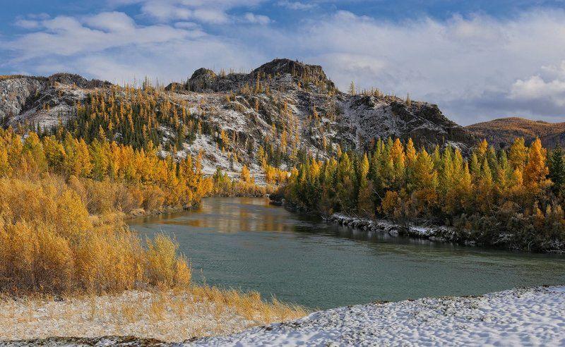 Осень на Чуеphoto preview