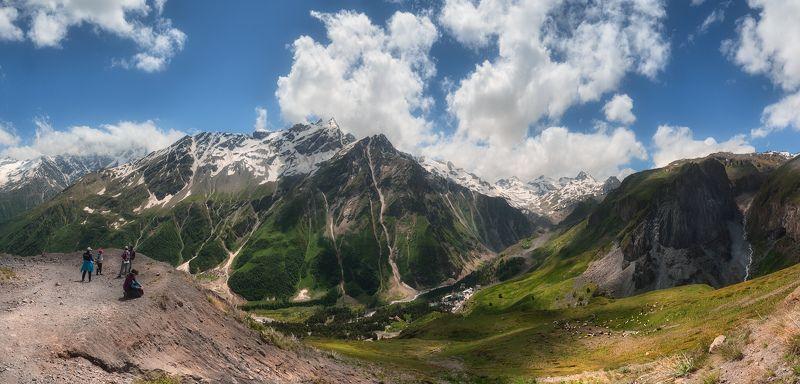 кавказ, чегет, баксанское ущелье, азау, приэльбрусье, кбр, балкария Летний день на высокогорьеphoto preview