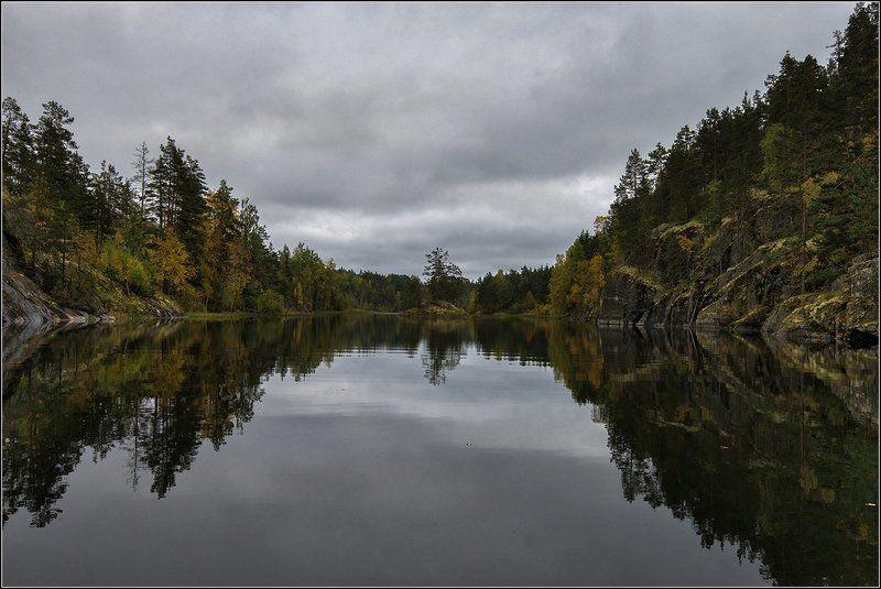 карелия, ладожские шхеры Проплывая узкими проливамиphoto preview