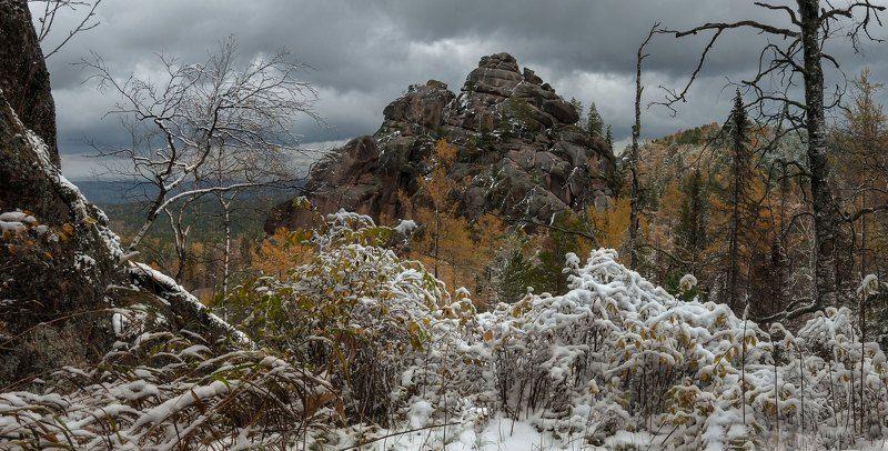 Снежная осень.photo preview