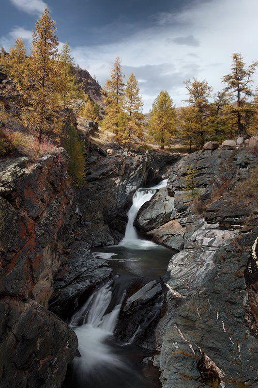 путешествия, водопад, алтай, туризм, исследование, пейзаж, горы, река, хайкинг Горный Алтай #2photo preview