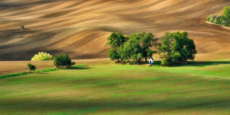 moravia, south moravia, chapel, landscape St. Barbaraphoto preview
