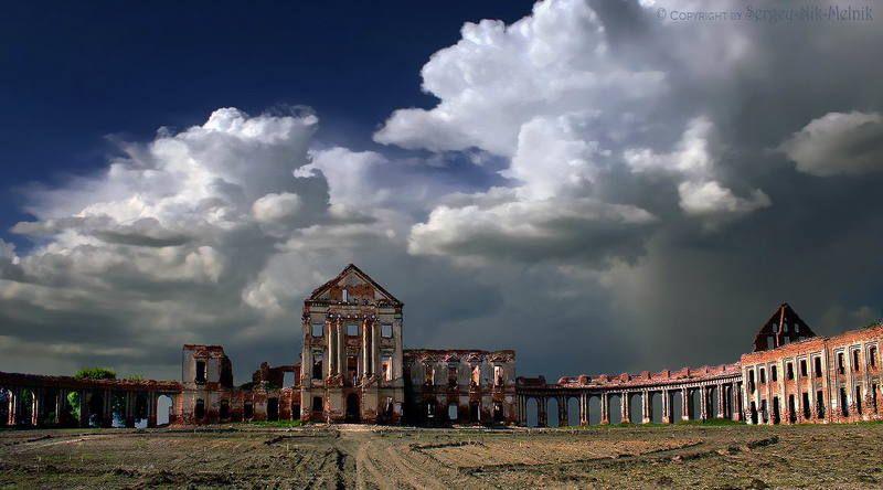 беларусь, ружаны, замок, дворец, архитектура «Остатки Белорусского Версаля»photo preview