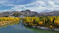 Осень на Чуе.