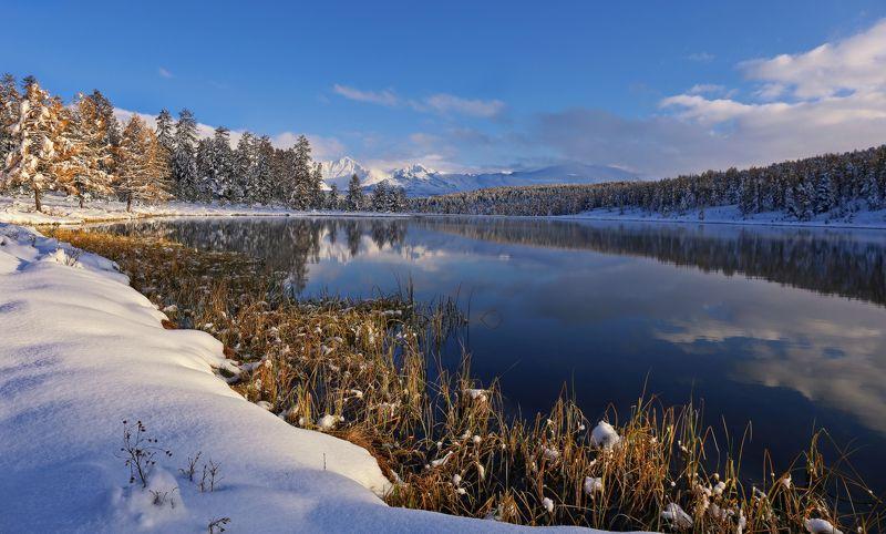 Снежный сентябрьphoto preview