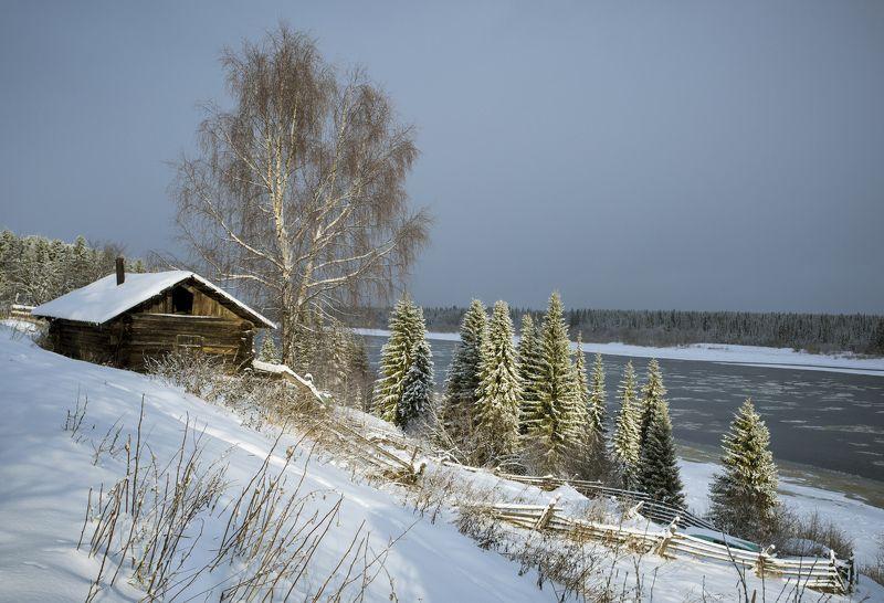 Начало зимы на Печоре.photo preview
