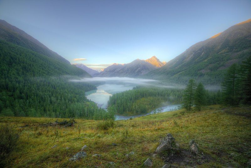 Утро на Кучерлинском озереphoto preview