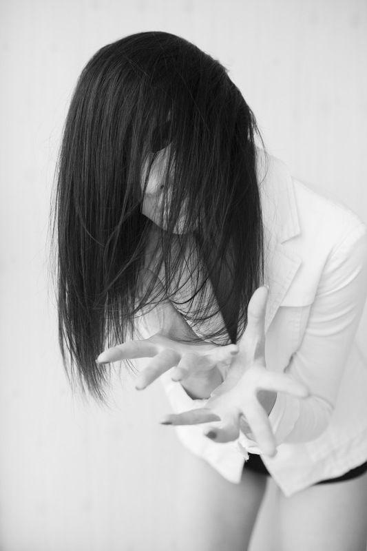 портрет, постановочная фотография, черно белое Фрикиphoto preview