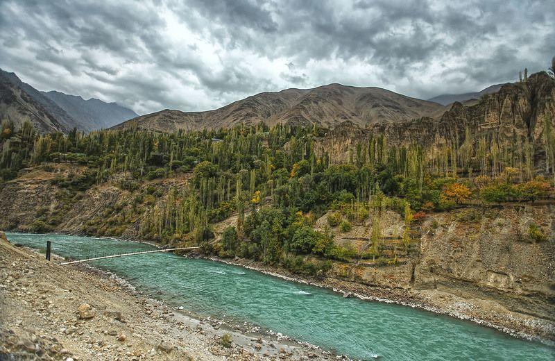 Зарафшанская осень. Айни-Пенджикент. Таджикистанphoto preview