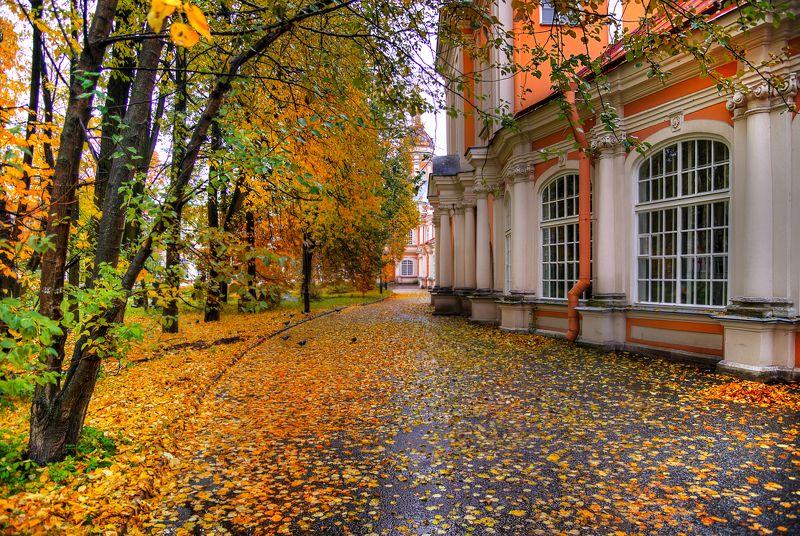 Александро-Невская лавра. Октябрь...photo preview