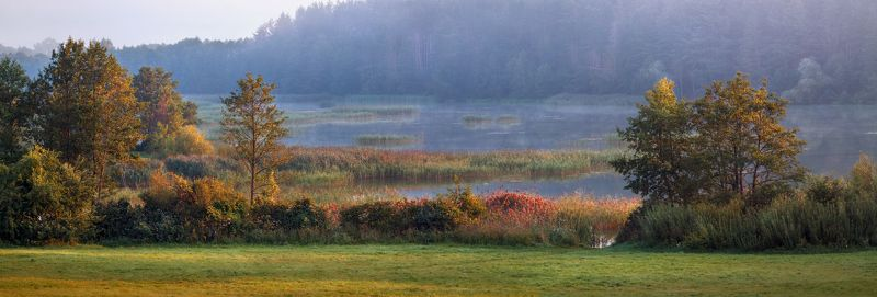 лето, рассвет, озеро, Аккорды летнего утраphoto preview
