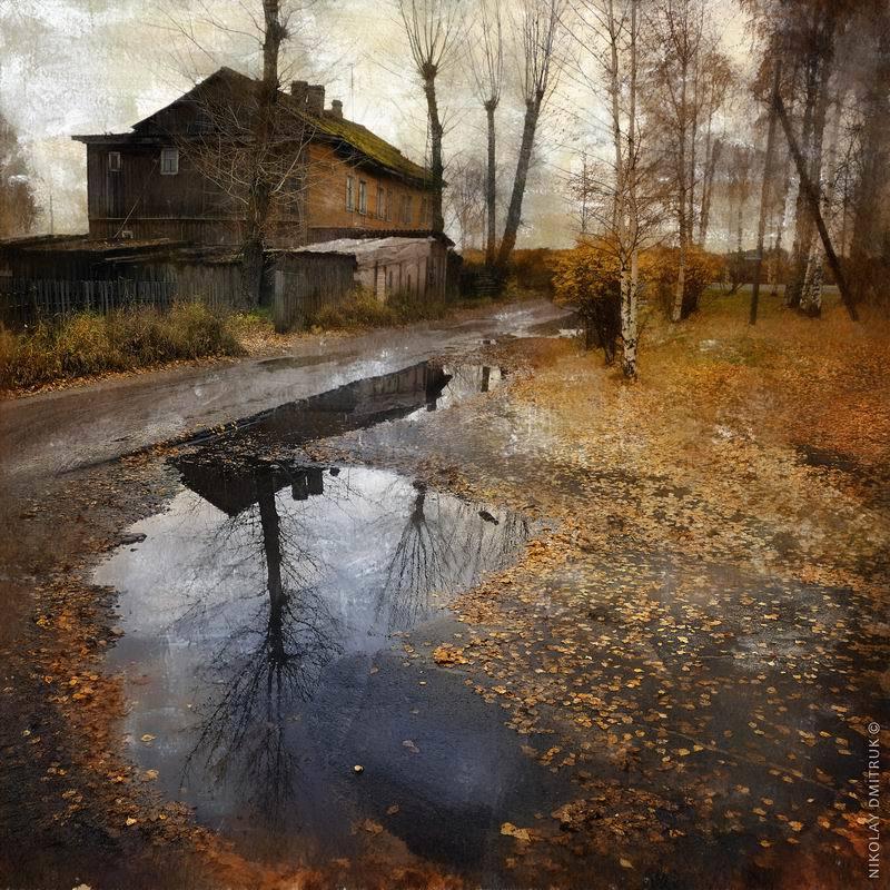 пейзаж, музыка осень. Холмогоры. 14.10.2017photo preview