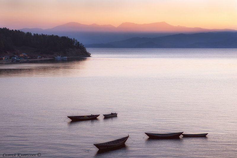 байкал, чивыркуйский залив, курбулик Утро в Чивыркуйском заливеphoto preview