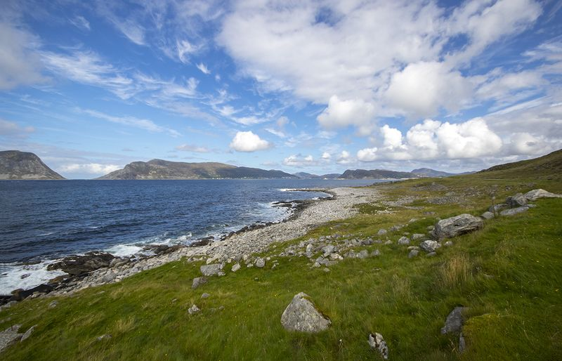 норвегия, скандинавия Берегphoto preview