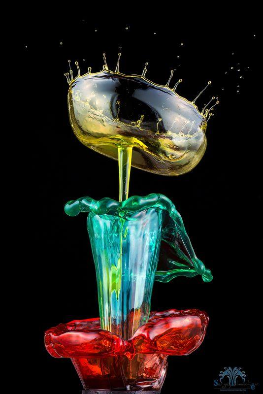 капли, жидкость, макро, арт, всплеск, сергейтолмачев, liquidart, art, liquid Горшочек в горшочке...photo preview