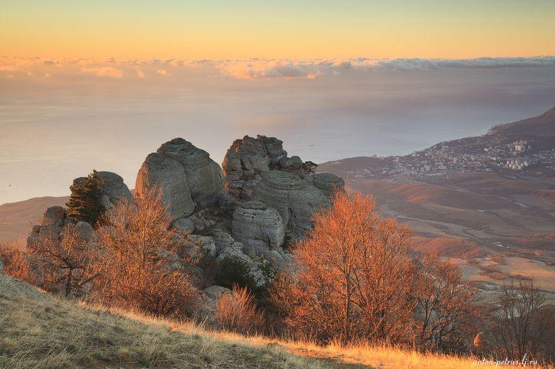 крым, закат, осень, демерджи Осень на Демерджиphoto preview