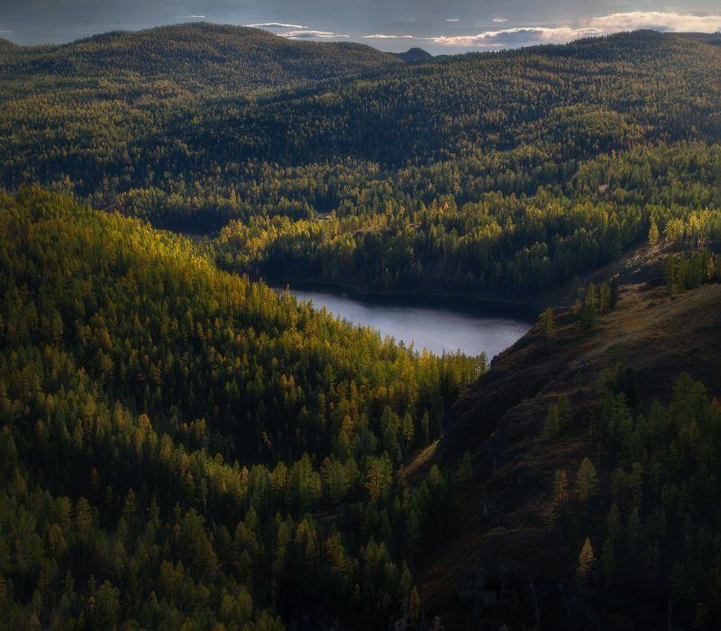 алтай, горы, осень Аленкино озероphoto preview