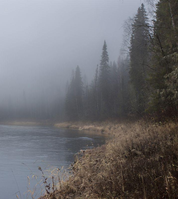 Туманы в октябре.photo preview