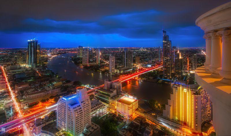 путешествие, Бангкок, пейзаж,городской,travel,sityscape, Thailand, Цвет ночного города.photo preview