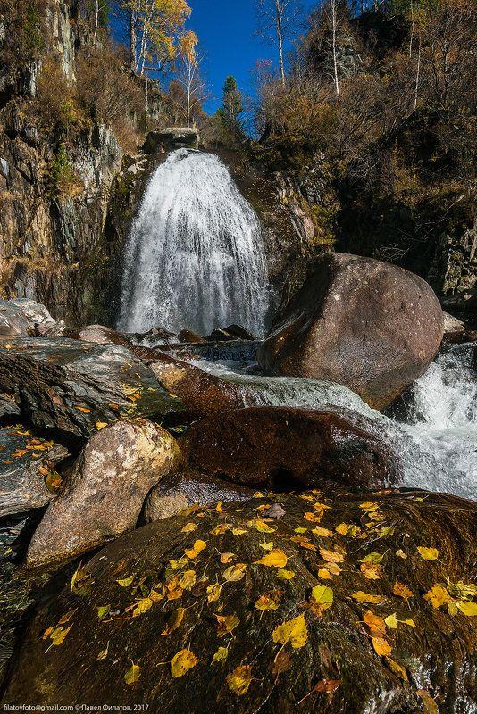 алтай, сибирь, siberia, корбу, алтайский заповедник, altai, водопад, осень Осенний Корбуphoto preview