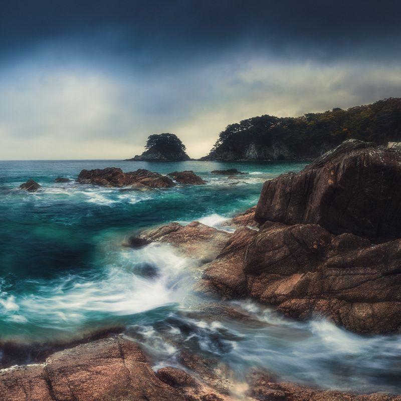 осень, море, скалы, камни ***photo preview