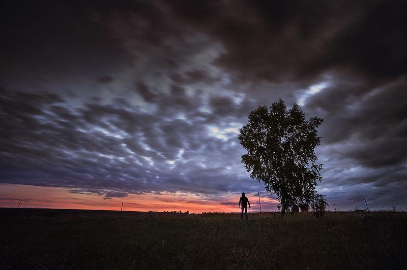 рассвет пейзаж утро Перед Рассветомphoto preview
