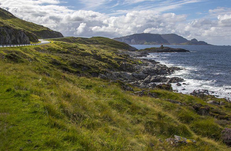 норвегия, скандинавия С маякомphoto preview