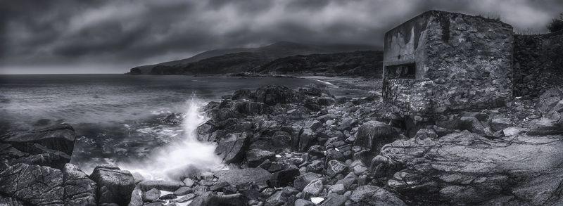 панорама, дот, море, осень Отголоски войны...photo preview