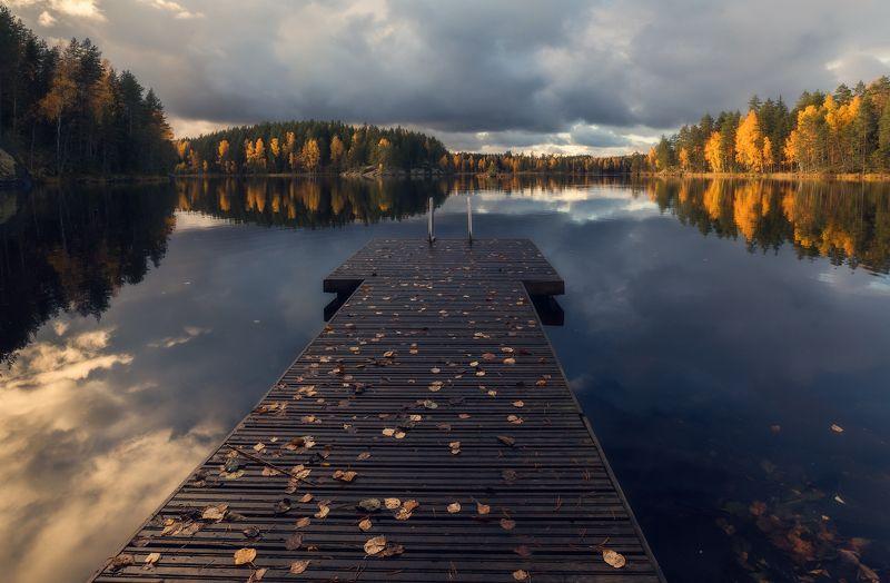 Осень. Осенний тихий вечер.photo preview