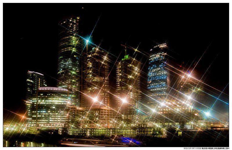 москва, сити, федерация, небоскреб, ночь Москва-Ситиphoto preview