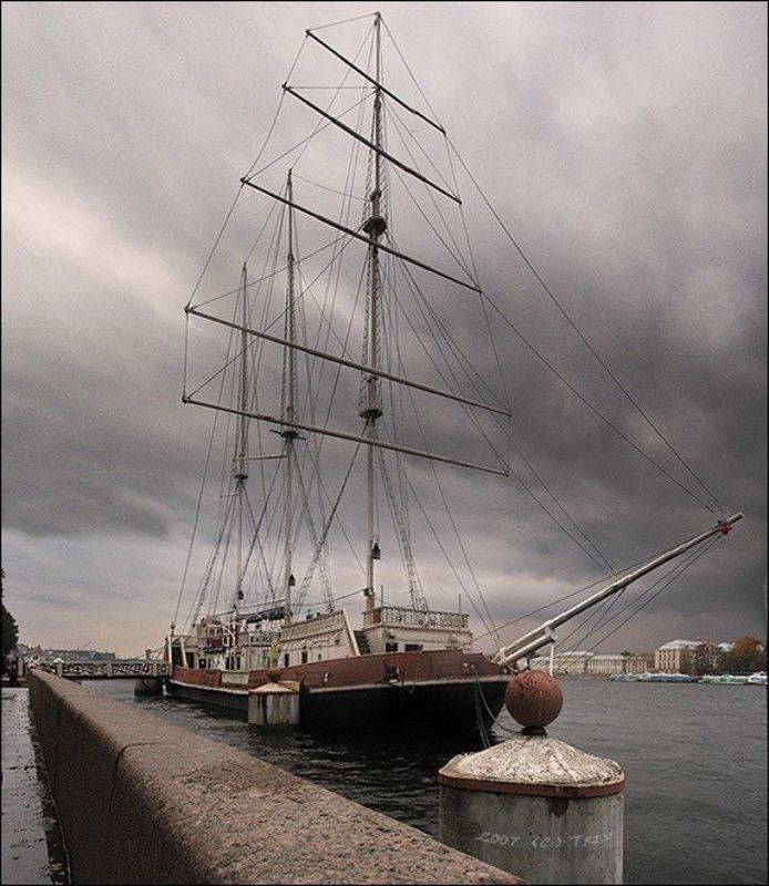 корабль, петербург, нева photo preview