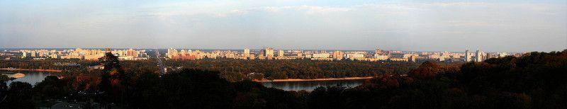 панорама, киев Панорама Киёваphoto preview