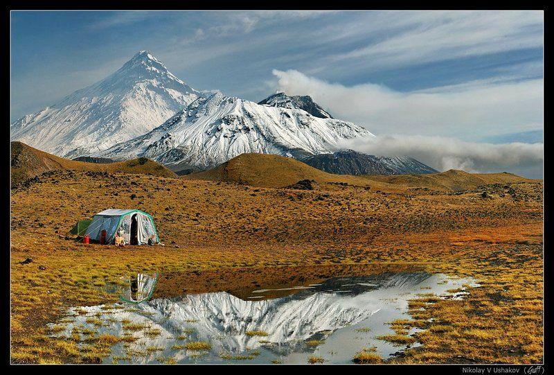 камчатка, вулканы, камень, безымянный Среди могучих и прекрасных!photo preview