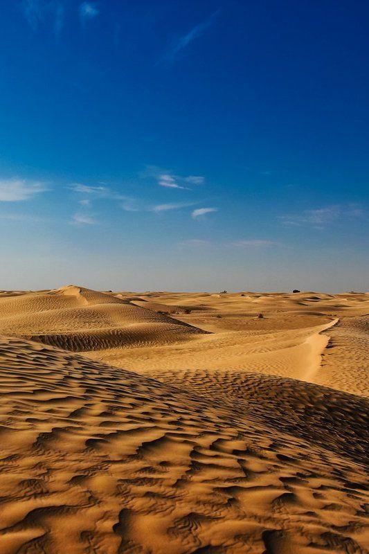 пустыня, барханы, жара Песок, он и в Африке песокphoto preview