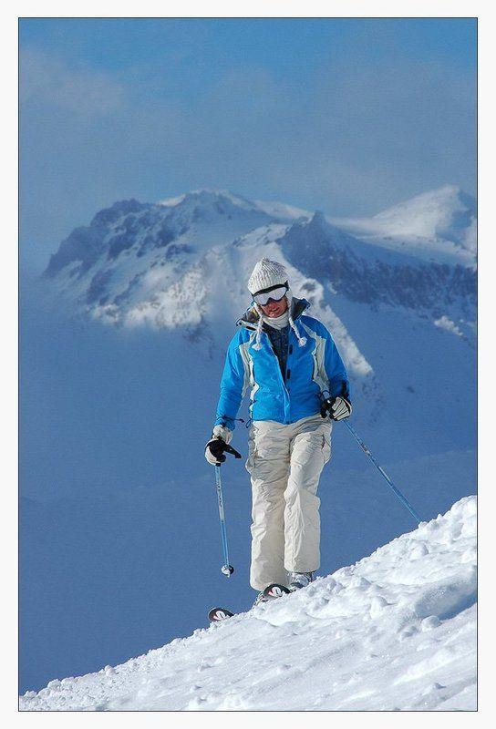 гудаури, горные лыжи, горы, грузия Про задний план в фотографииphoto preview